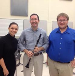 Dr. Kenneth Long with Gabi Molina and Randall Chapman