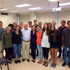 Dr. John Duke visits MTSU