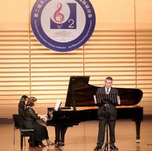 Dr. Waldecker performing in Hangzhou, China