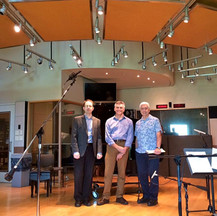 In Nashville for a live recital radio broadcast with Dr. Adam Clark and host, Will Griffin
