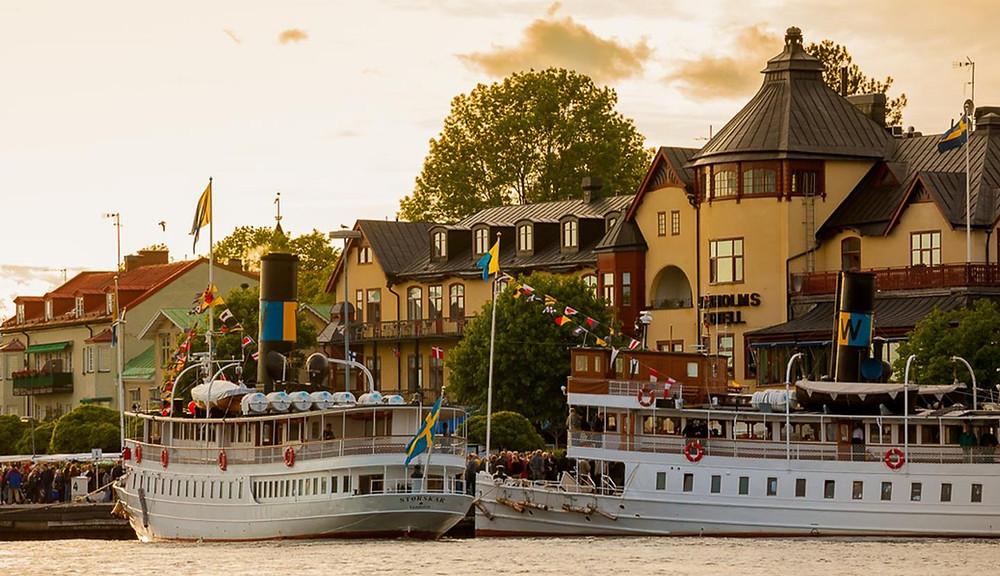 Vaxholm i Stockholm