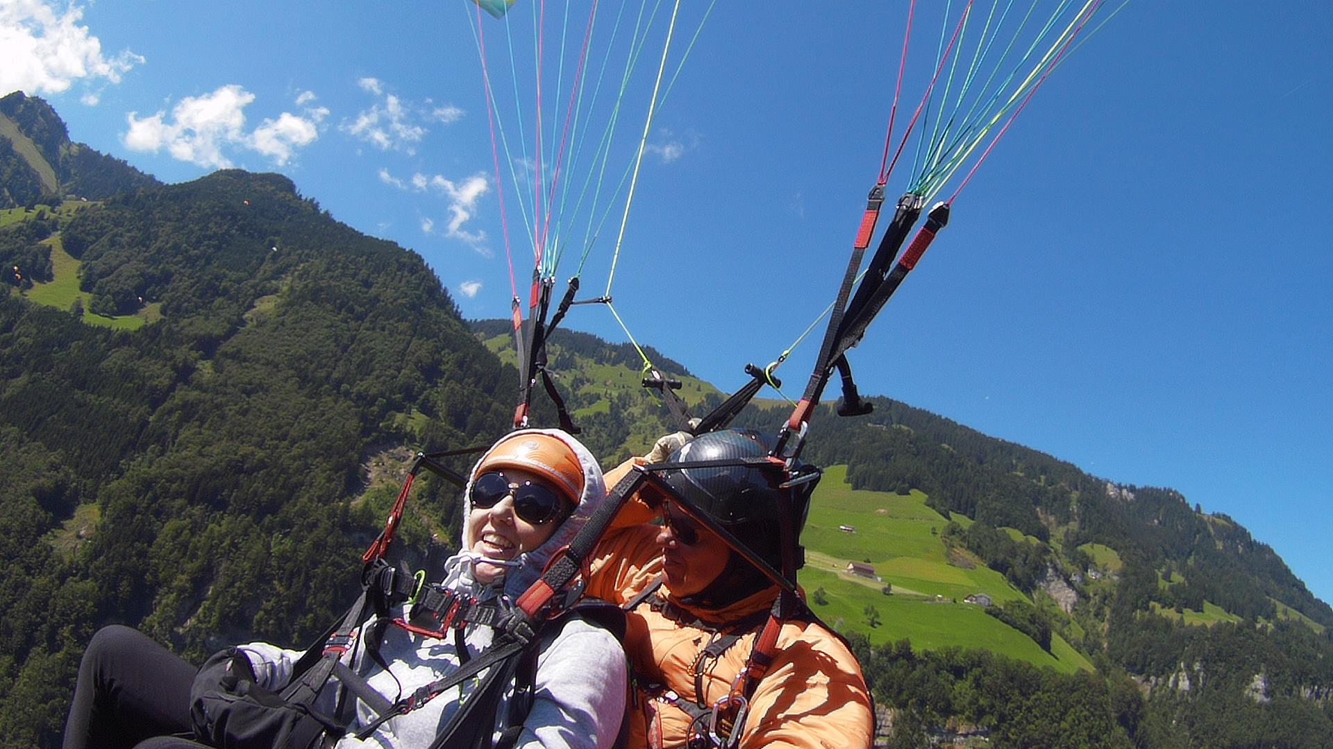 Biplace Paragliding