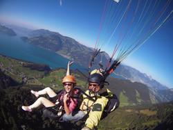 Paragliding Tour Swiss Alps