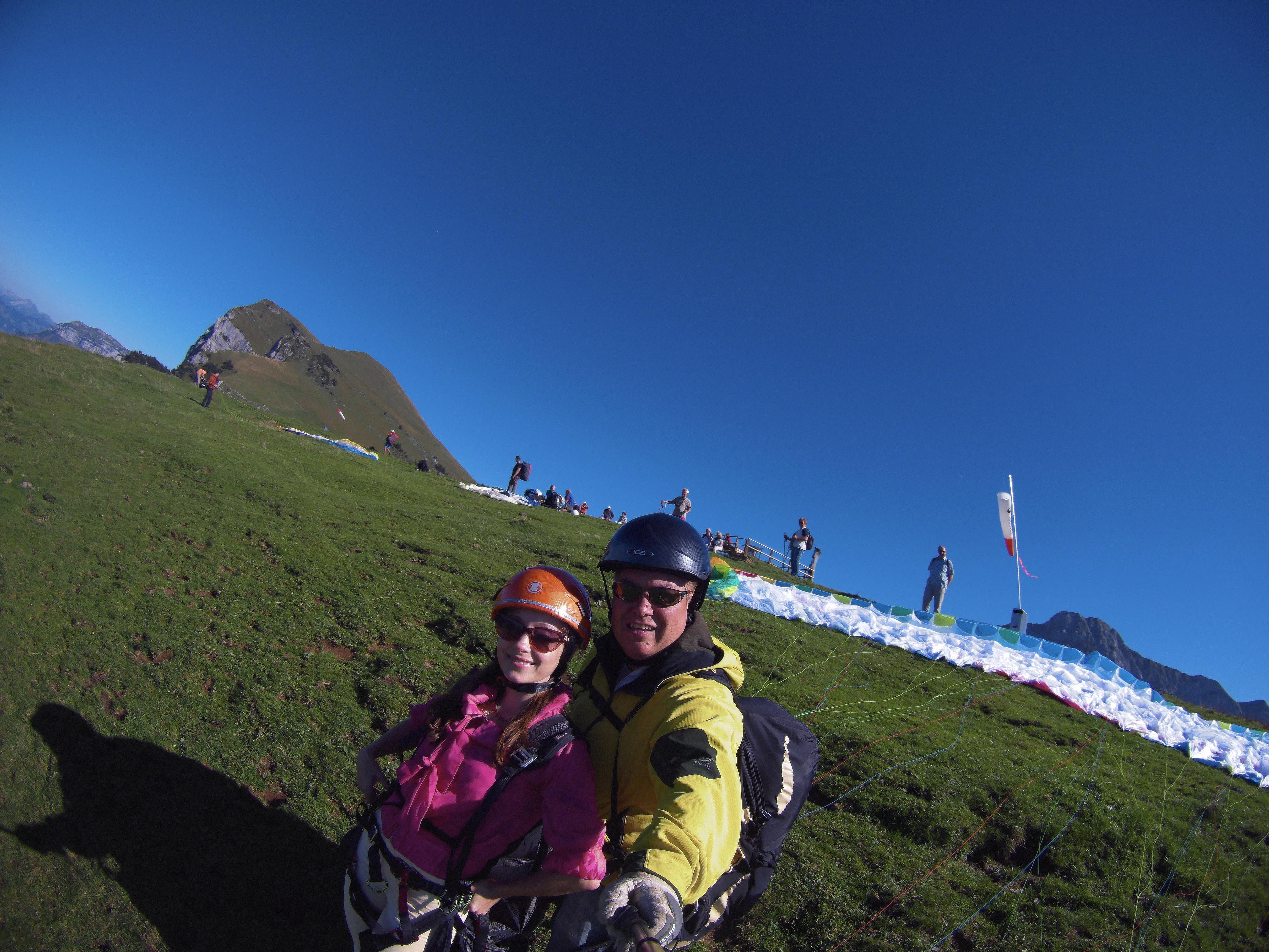 Titlis Paragliding Tandem