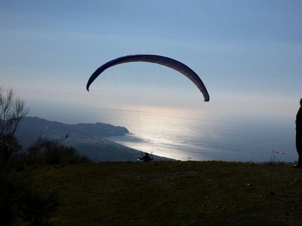 Panorama Flug Tandem