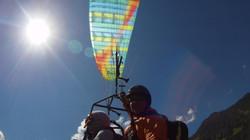 Biplace Paragliding Alps Switzerland