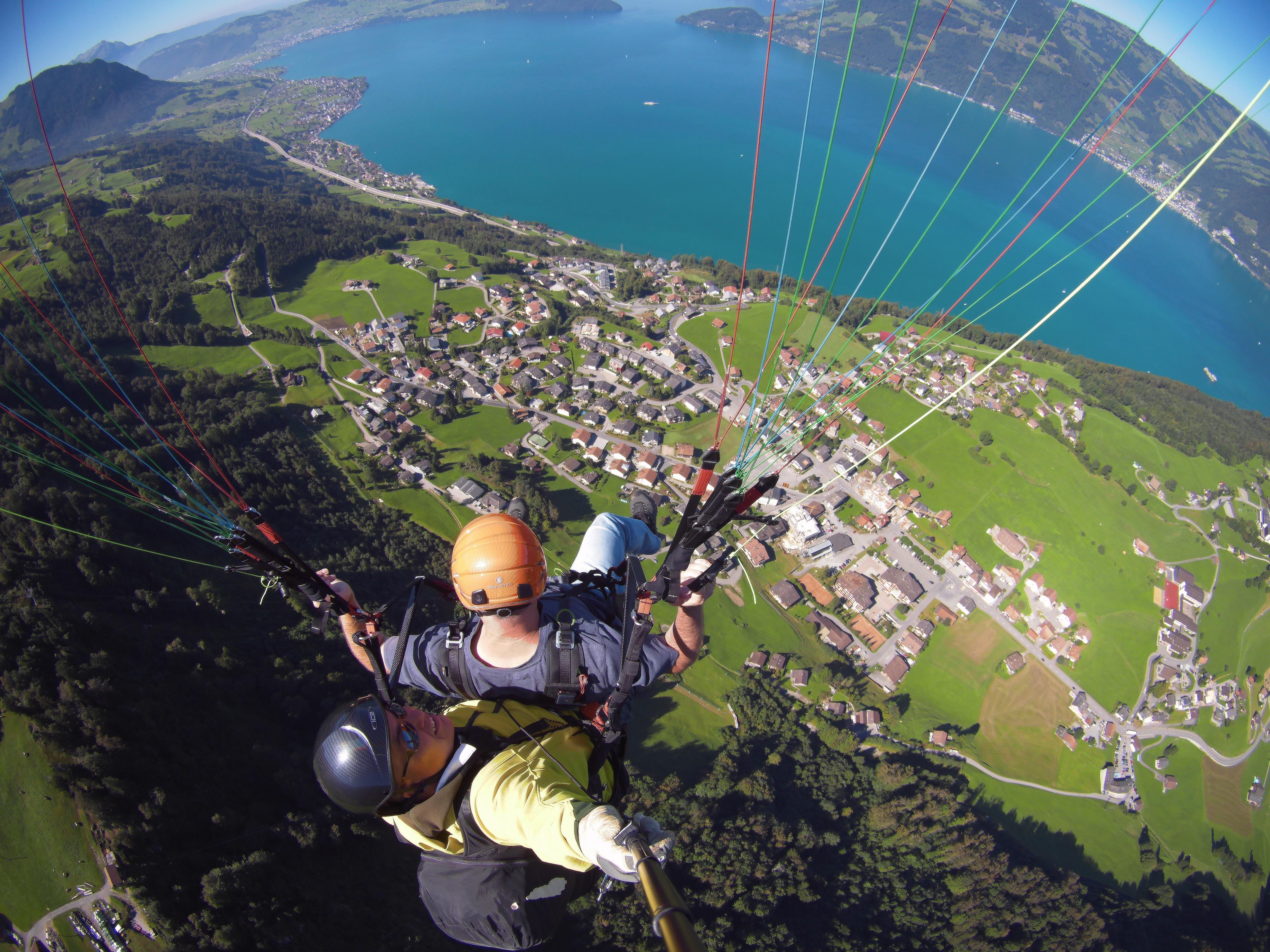 Tandem fliegen Luzern
