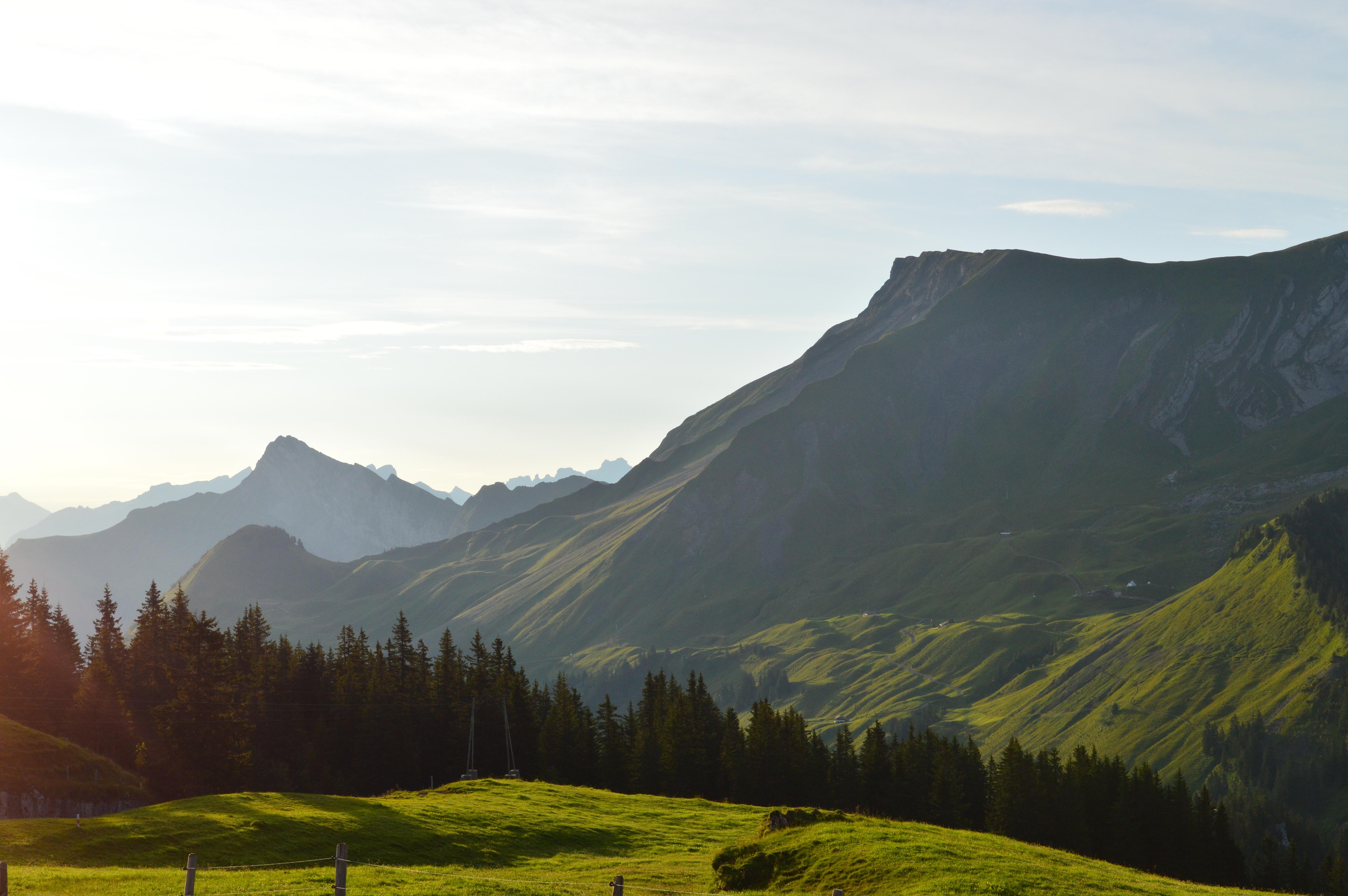 Alpen Panorama Gleitschirm