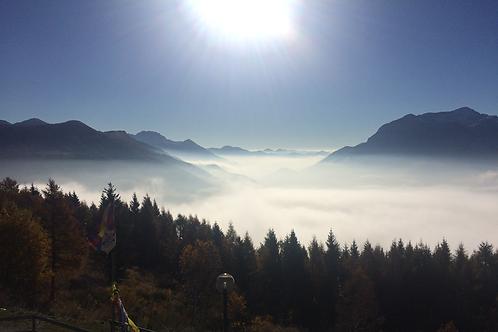 Alpen Safari mit dem Gleitschirm