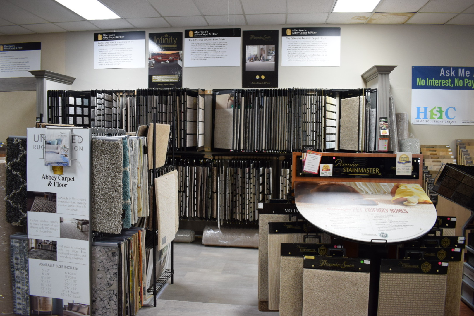 HUGE SELECTION OF HARDWOOD AND CARPET