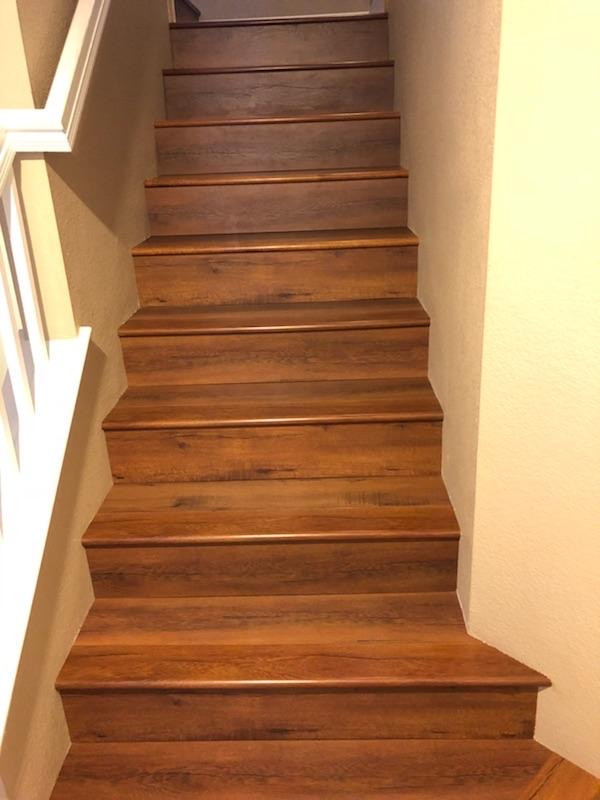Laminate stairwell