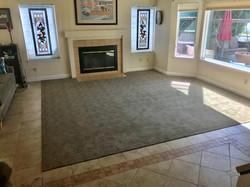 A beautiful pattern carpet