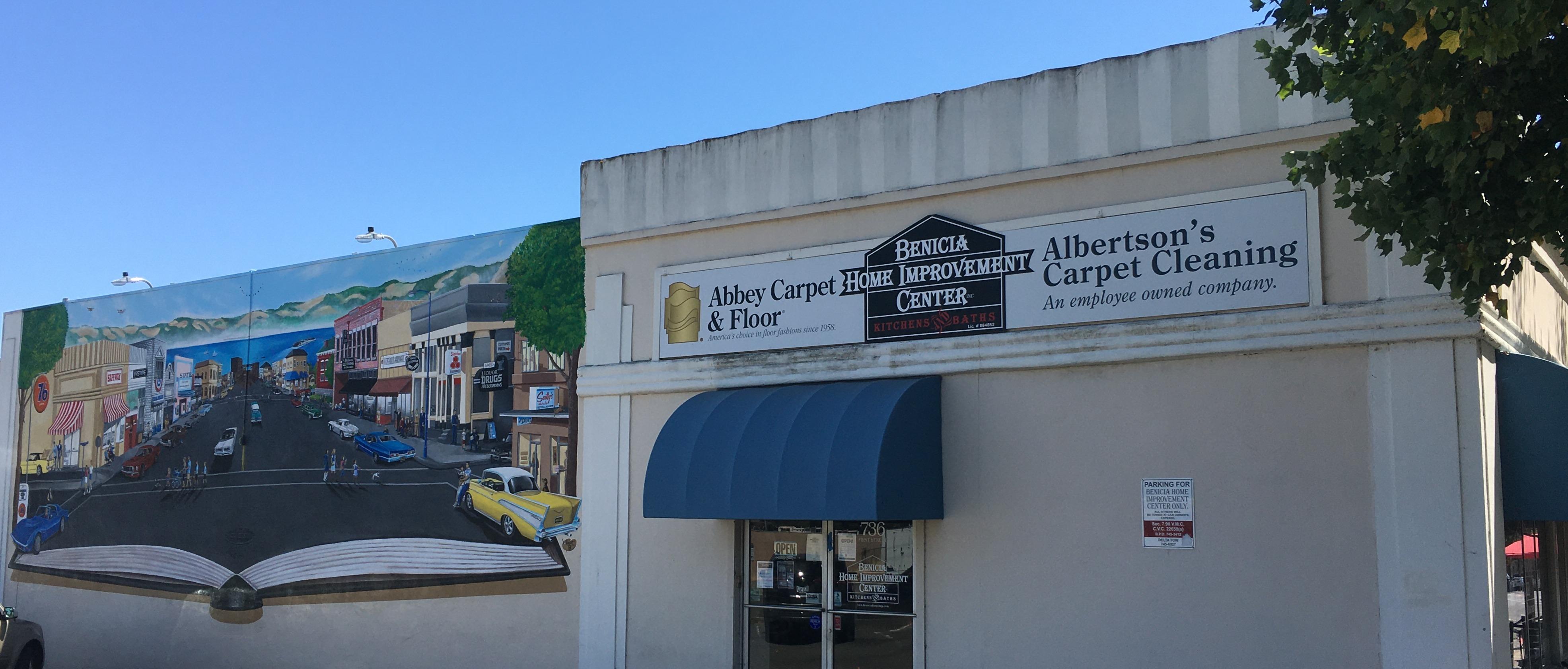 ALBERTSON'S ABBEY STORE FRONT IN BENICIA