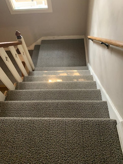 COMMERICAL CARPET ON STAIRS