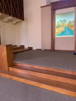 COMMERICAL CARPET IN CHURCH