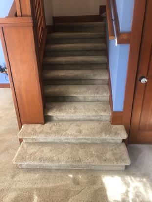 Carpet Stairwell