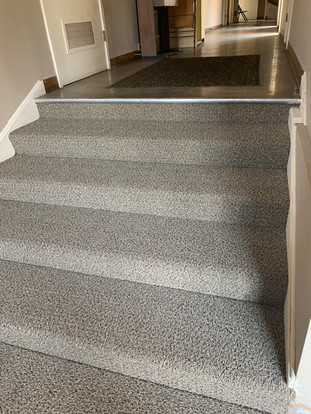 Carpet steps