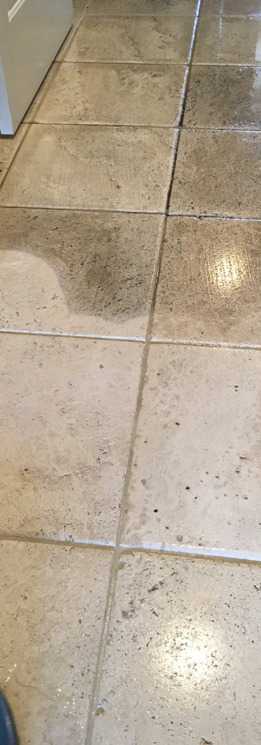 Porcelian + Grout cleaning