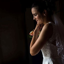 North Norfolk bride in the dark