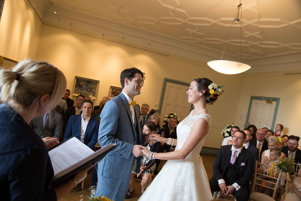 The castle ceremony