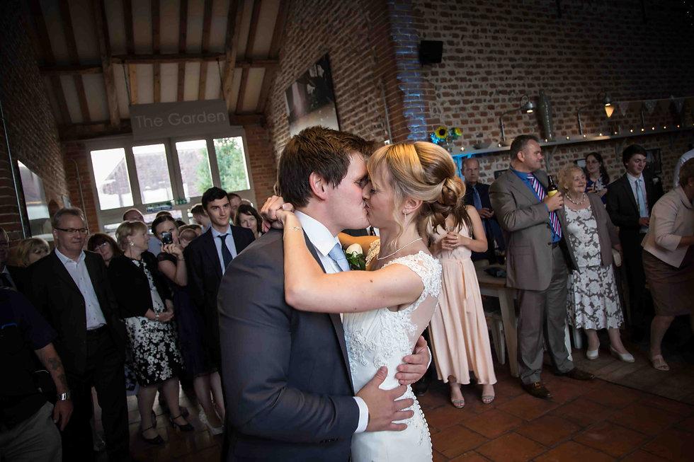 Kiss after first dance