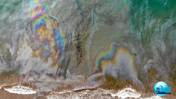 DJI_0993 Pollution Art Oil spill Sheen B