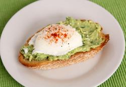 breakfast - avocado toast