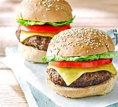 2 meatball burgers
