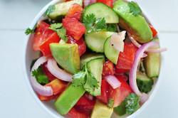 snack - avo salad