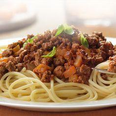 dinner -quorn bolognase
