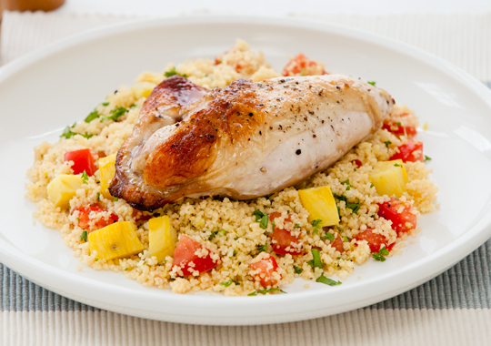 Dinner -Chicken & cous cous