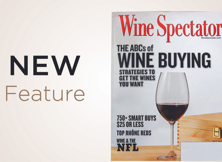New 2020 Wine Spectator Feature