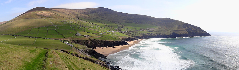 Irish shore on Dingle Peninsula