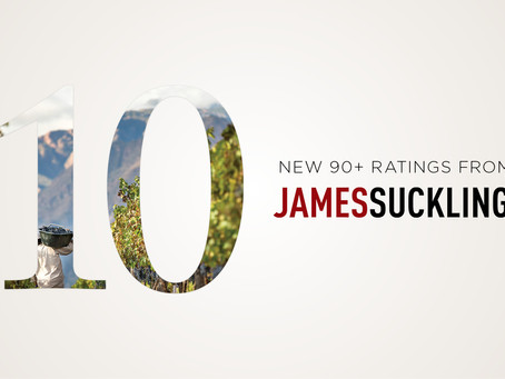 New 90+ Ratings from James Suckling