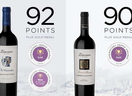 3 Gold Medals from Sommeliers Choice Awards!