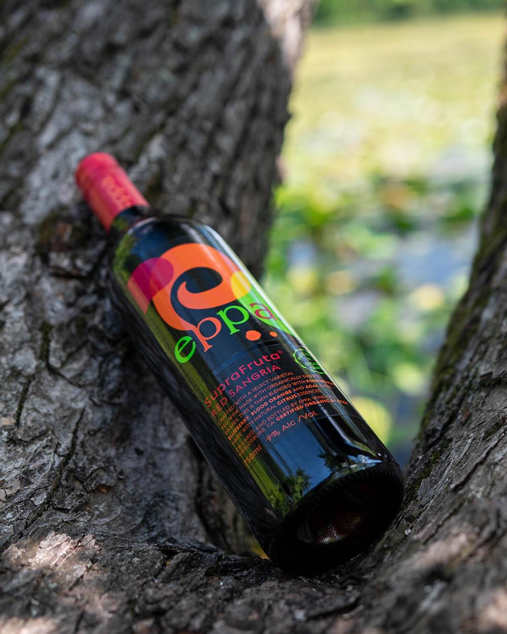 Eppa SupraFruta Red Sangria In a tree
