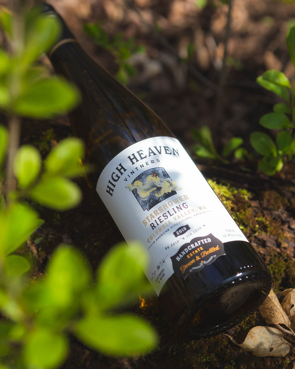 A High Heaven Riesling in its natural habitat