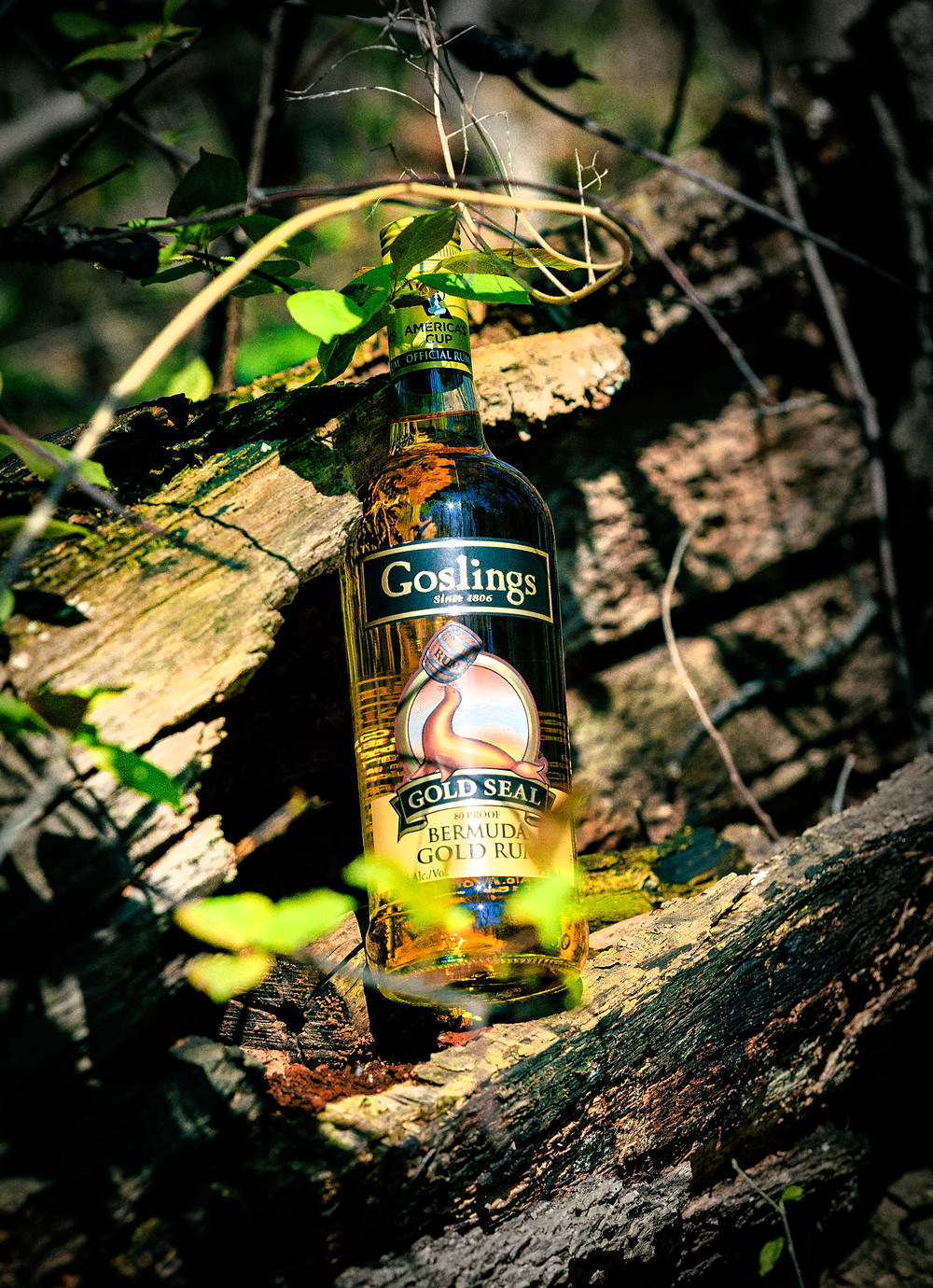 Gosling's Gold Seal Bermuda Gold Rum