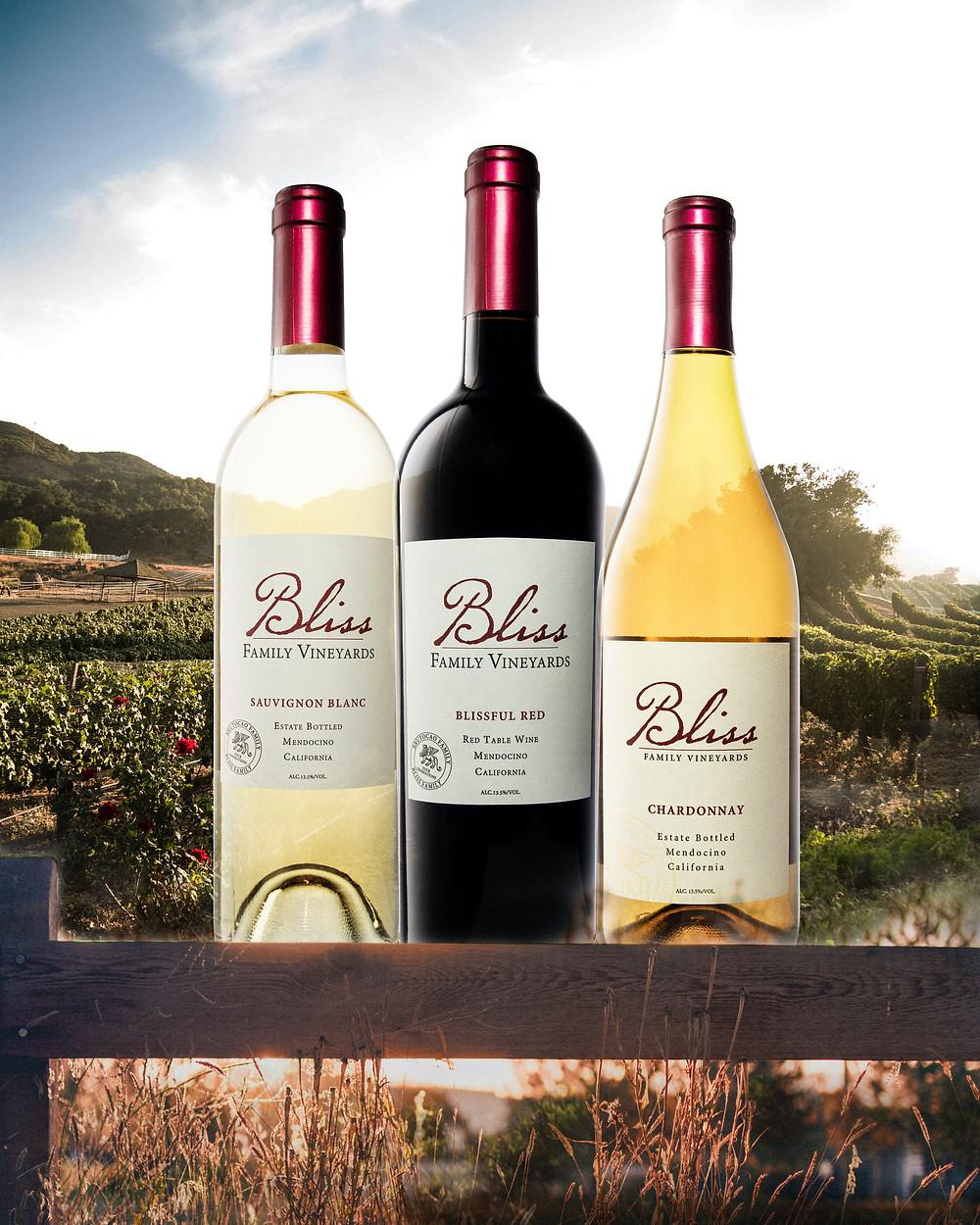 California Wine Bliss Family Vineyards