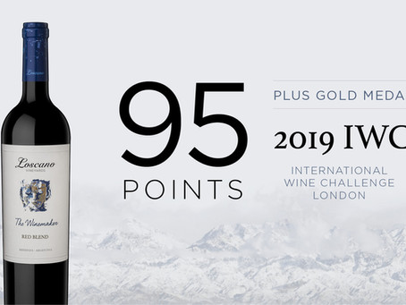 95 Points for Red Blend