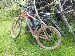 Mountainbike na zware tocht