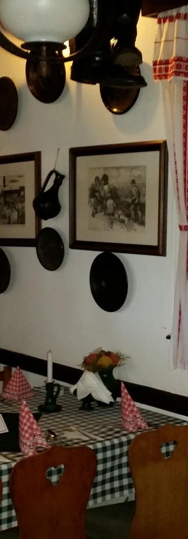 Interieur traditionele Hongaarse Csárda