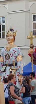 Nationale feestdag in Székesfehérvár