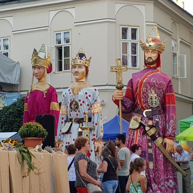 Nationale feestdag Székesfehérvar