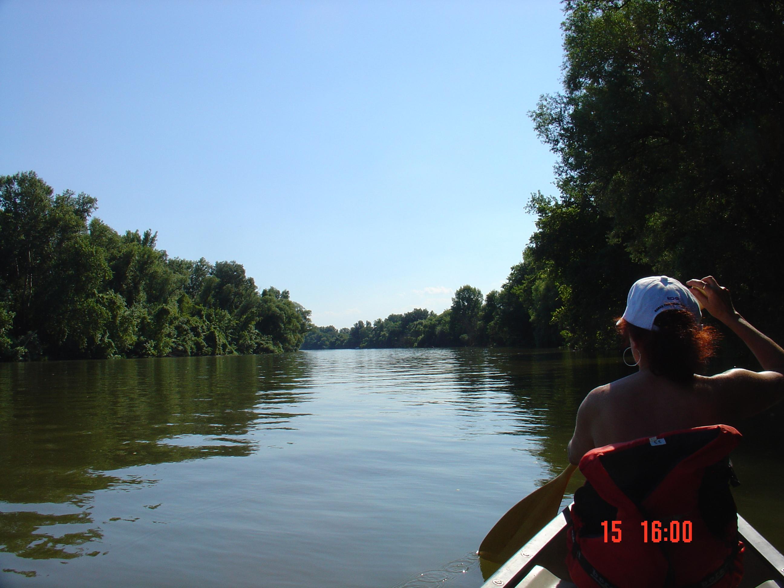 Kanotocht op de Tisza