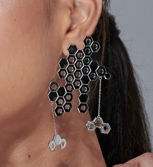 XL hex earring