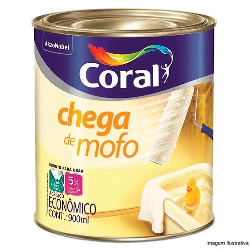 Coral Acrílico Interior Chega de Mofo 0,9 litro - Branco