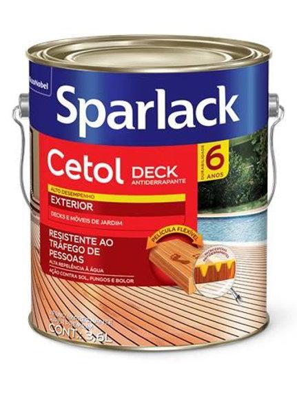 VERNIZ CETOL DECK SB NATURAL 3.6 L  CORAL
