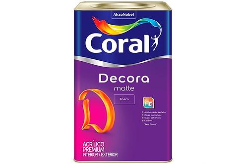 ACRIL DECORA MATTE FOSCO BRANCO 18L