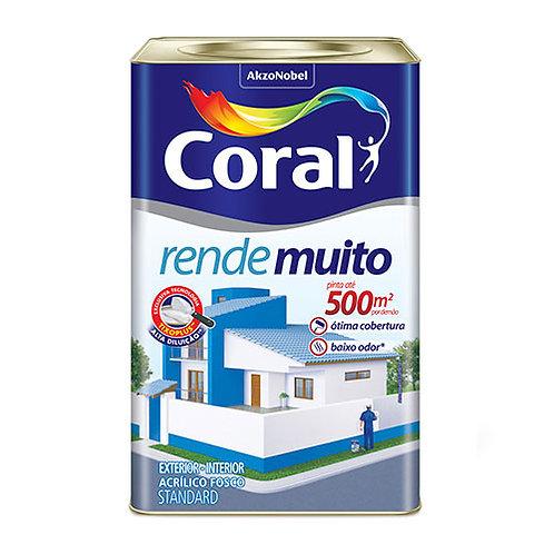 ACRIL RENDE MUITO CORAL BRANCO 18L